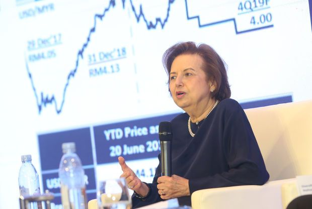 """PNB group chairman Tan Sri Dr Zeti Akhtar Aziz (file pic)  described 2020 as """"the most tumultuous in our history"""" but the fund had remained resilient thanks to its transformation strategy that was implemented in 2018."""