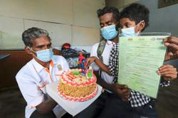 Eight-year-old boy gets birth cert on his birthday