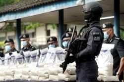Police foil drug trafficking bid, seize RM221mil worth of pills