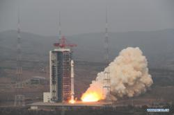 China launches new satellite for space environment survey