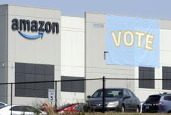 Amazon union organisers deflated as vote tilts against them
