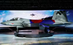 South Korea unveils prototype of KF-X fighter jet