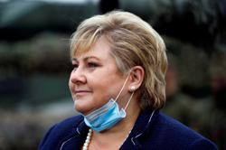 Norway prime minister fined by police over virus rules violation