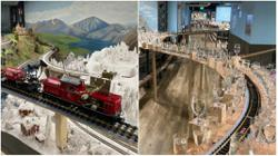 Watch: The best of classical music, played by a model train