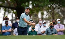 Rose leads Masters, defending champion Johnson misses cut