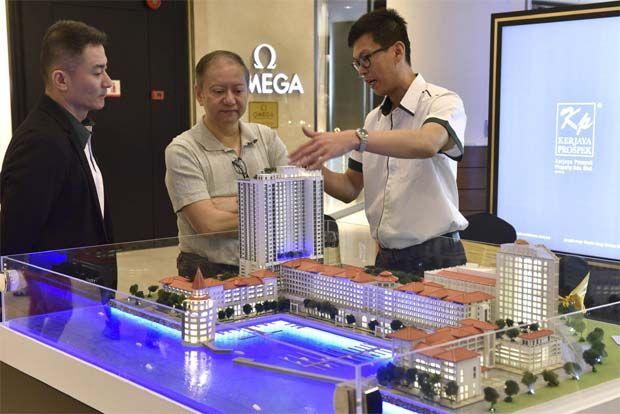 Kerjaya Prospek Straits Residences model