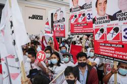 Peru braces for 'most fragmented election in history' as pandemic grips