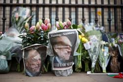 Britain mourns Prince Philip but 'no flowers please' due to COVID