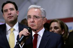 Hearing in Colombia ex-president case to resume only after appeals - judge