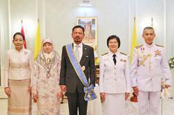 Former Brunei Air Force commander awarded prestigious order by Thai King