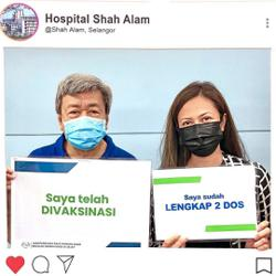Selangor Royals complete their vaccination