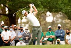 Triple-bogey trips up doubting Thomas at Masters