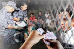Sabah Immigration nabs 117 illegals in Sandakan