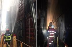 Bomba still fighting fire aboard cargo ship in Port Klang after four days
