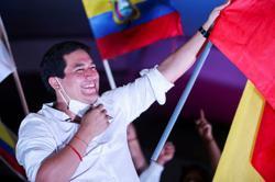 Lasso wins Ecuador presidency in upset over socialist rival