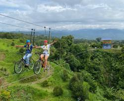 Bunny farm boss begins sky bike centre in Ranau