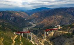 An engineering marvel - China builds green rail linking Laos
