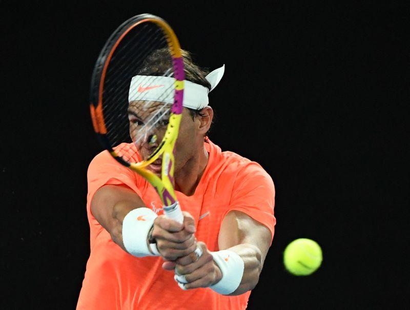 Tennis-Nadal shrugs off fitness concerns ahead of Monte Carlo return
