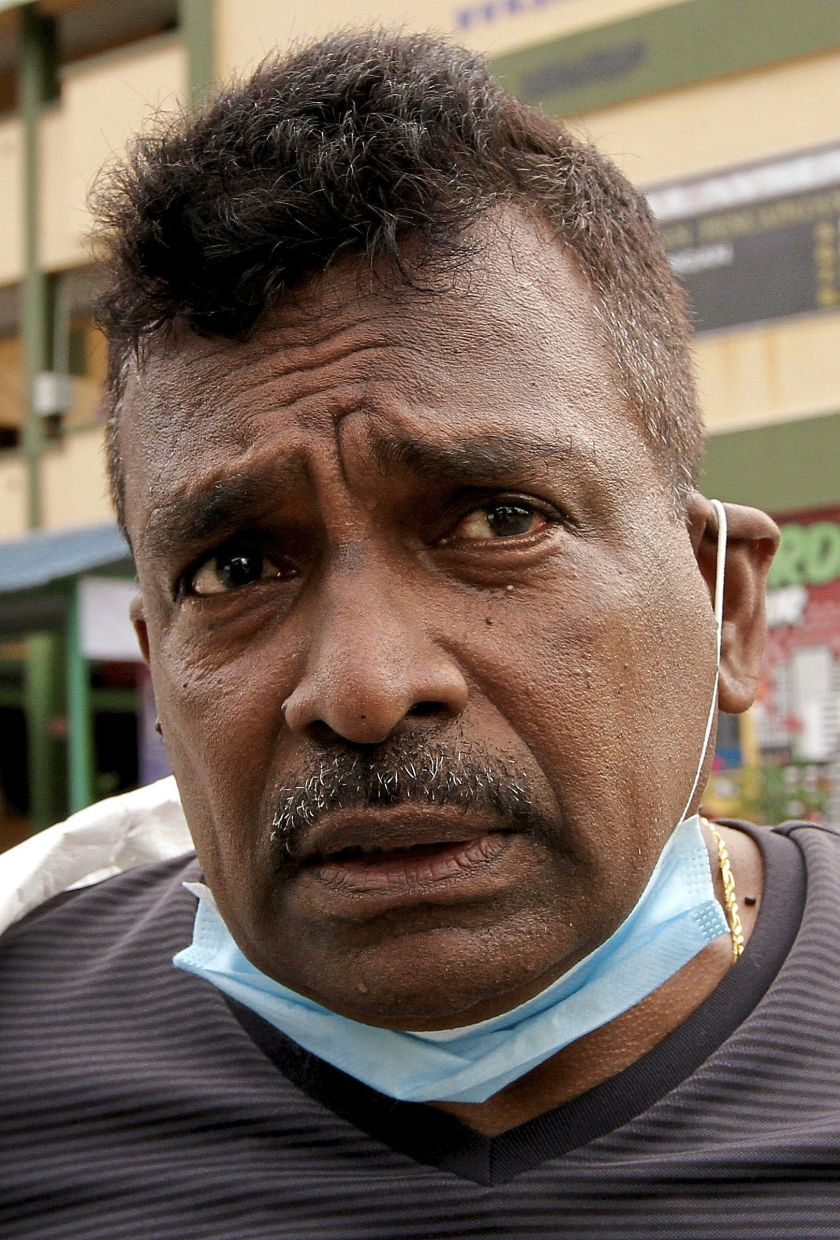 Sivam has been  helping in sanitisation operations carried out by the Seputeh MP's office.