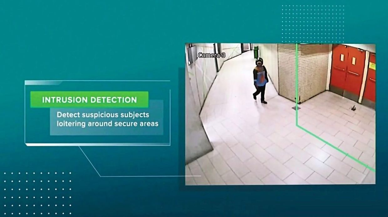 5G smart surveillance system, a use case from Maxis to help equip Komtar's security with new analytics and detection methods.