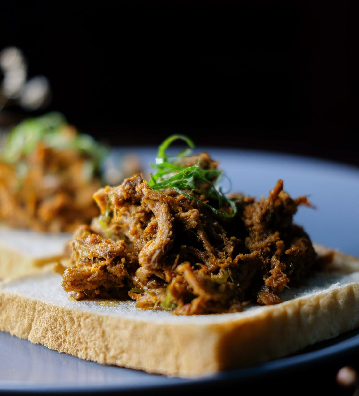 It takes six hours to cook a large batch of Mushroom Lah's mushroom rendang! — AISYA JABARUDDIN