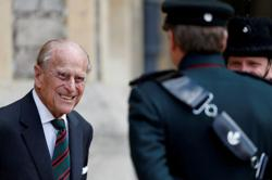 British royals react to Prince Philip's death