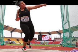 Queenie rewrites national discus mark after filing protest
