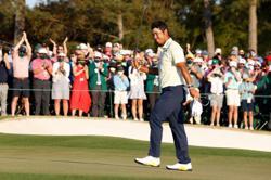 Golf-Japan's Matsuyama wins Masters for maiden major victory