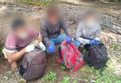 GOF nabs three Indonesian men trying to enter Malaysia illegally