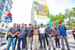 Brunei: The Big Wall brings splash of colour to Bandar Seri Begawan