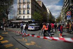 One person shot dead in front of Paris hospital - police source