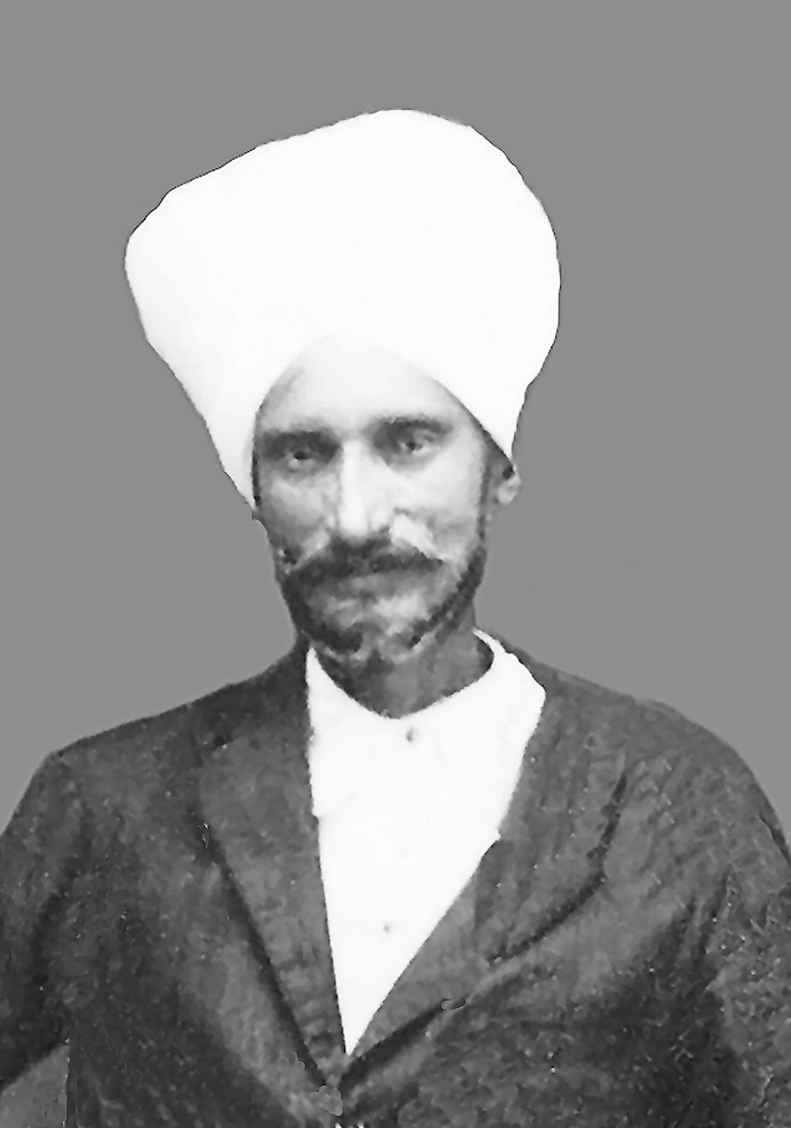 Mahee Singh Dhillon, a sepoy who joined the Perak Armed Police in 1878 and retired as Chief Constable of Penang. Photo: Athiavan Singh Dhillon