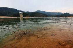 Rainfall filling up dams