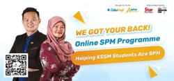Online programme to help KSSM students