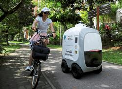 Robots on call for home deliveries