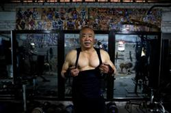 Decades strong: Chinese bodybuilders pump iron at old Beijing gym
