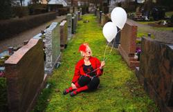 Germany's only funeral clown just wants people to rethink death