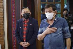 Philippines: Duterte makes first public appearance after 2 weeks, telling those who want him dead to pray harder