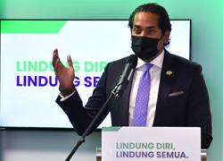 Khairy: M'sia will have enough vaccines for 80% of population in six months