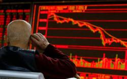 China shares dip as strong trade data fuels tightening concerns