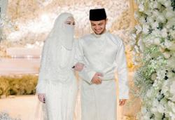 Police suggests issuing a fine to newly-weds Neelofa and PU Riz for SOP breach