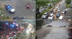 Flash floods cause traffic jams in parts of KL