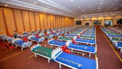 Cambodia: Convention centre turned in temporary Covid-19 hospital as China pledges another 400,000 doses of Sinopharm vaccine