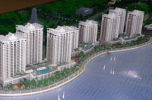 A model of the Lido Waterfront Boulevard dated 30 Sept 2011.