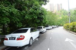 Apek Hill hikers asked to park responsibly