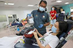 Regulars slowly return to blood donation drives after easing of MCO