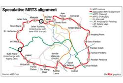 MRT3 tender to go out in August