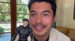 Thats my face! Henry Golding on his Snake Eyes action figure