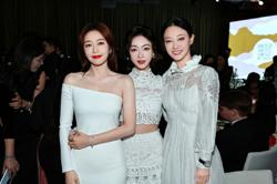 Reunion: Yanxi Palace stars Wu Jinyan, Qin Lan, Tan Zhou meet up at fashion show