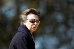 Britain's Princess Anne seen in public for first time since death of Philip
